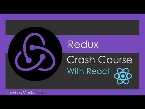 Redux Crash Course With React - YouTube