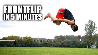 Learn How to Fr๐nt Flip | In Only 5 Minutes II