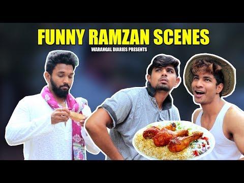 Funny Ramzan Scenes | Hyderabadi Comedy | Warangal Diaires
