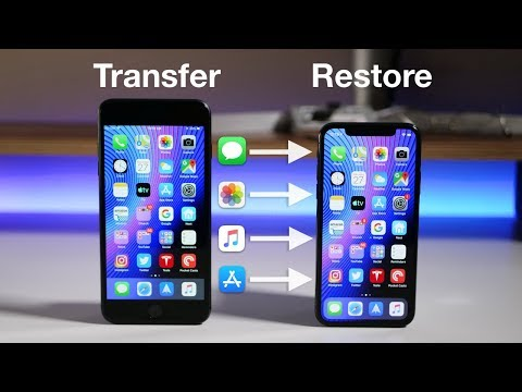 How To Transfer All Data From An Old IPhone To A New IPhone Without ITunes Or ICloud