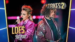 Loes Haverkort en Marcel Veenendaal - Fix You | It Takes 2