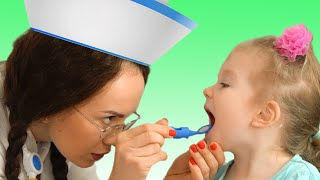 Doctor Checkup Song | Song about doctor.Nursery Rhymes by Sasha Kids Channel.동요와 아이 노래 | 어린이 교육