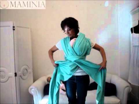 Maminia Instructivo Portabebe Modelo Africana Fular - YouTube b6027a3c55a