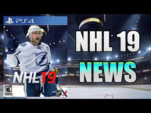 NHL 19 NEWS - BE A SUPERSTAR, LEGEND TEAMS & MORE