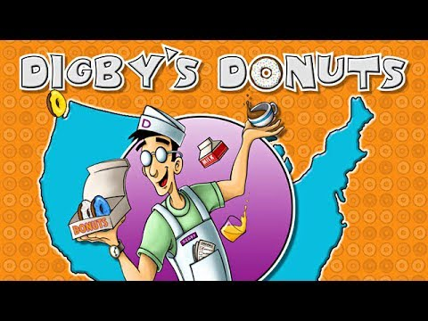 Digby's Donuts Trailer