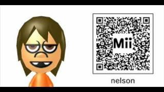 Nintendo 3DS Mii QR Codes Simpson Pack