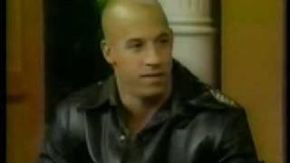 Vin Diesel on Regis & Kelly 2002