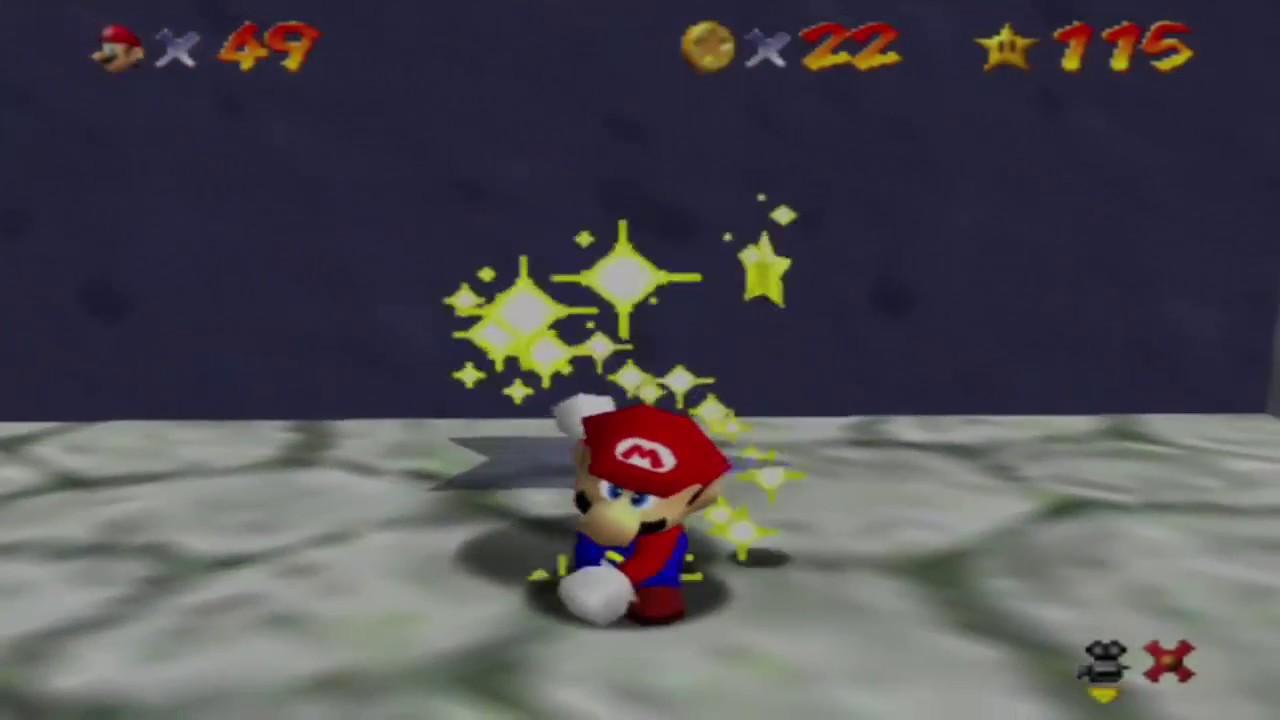 Super Mario 64 Regenbogen Raserei Finde Die 8 Roten Münzen