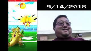 Pokémon GO Legend Raiders: Raid 41 - Legendary Bird Shiny Hunt Part 1
