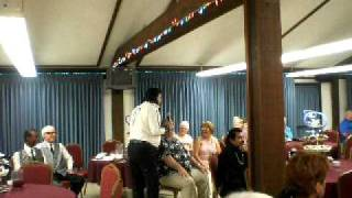 Elvis Presley by David E. Prezley 35th Anniversay Barstow Senior Citizens Center part 2