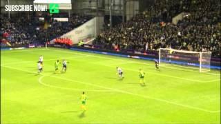 GOALS: West Brom 0-2 Norwich City (December 7, 2013)