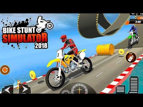 Real Stunt Bike Pro Tricks Master Racing Game 3D Gameplay