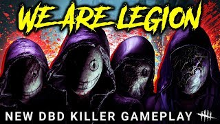 THE LEGION: DBD Gameplay & Mori - Dead by Daylight with HybridPanda