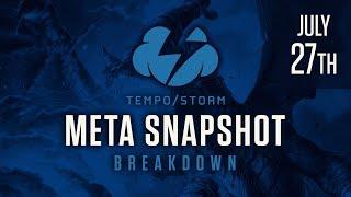 Tempo Storm Meta Snapshot Breakdown: July 27th, 2017 - The Frozen Pwn