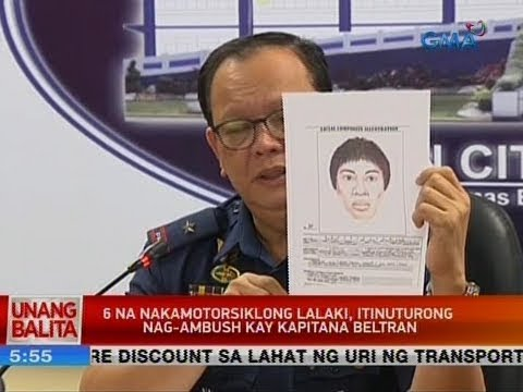 UB: 6 na nakamotorsiklong lalaki, itinuturong nag-ambush kay Kapitana Beltran