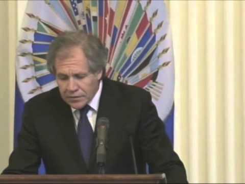 Luis Almagro new  OAS Secretary General
