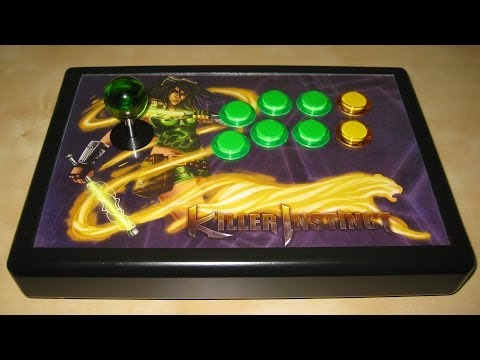 How to: Custom Xbox One Arcade Stick Build