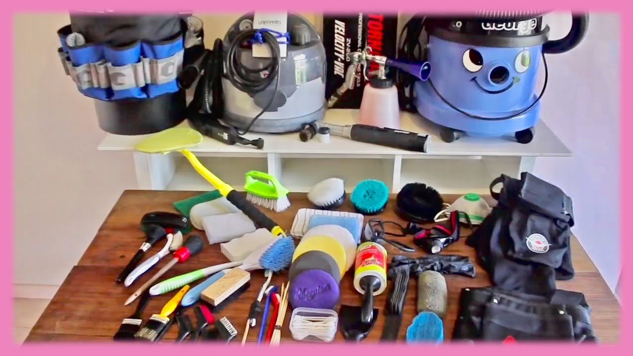best car interior detailing tools accessories equipment reviewed youtube. Black Bedroom Furniture Sets. Home Design Ideas