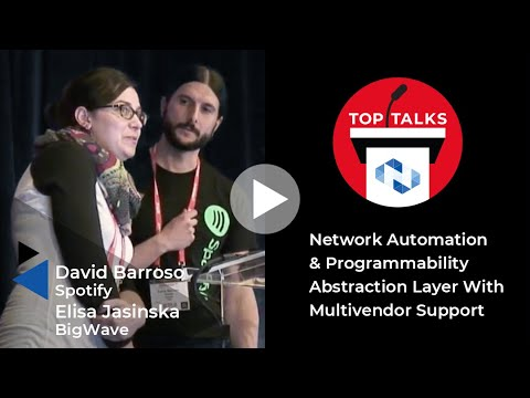 Network Automation and Programmability Abstraction Layer with Multivendor support