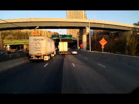 Drive across the George Washington Bridge.