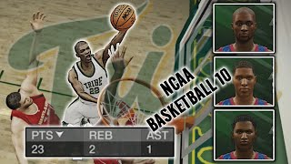 NCAA Basketball 10 | William & Marry Tribe #3 | Setting Up Meetings w/ Recruits