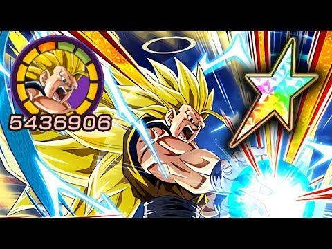 100% POTENTIAL SYSTEM TRANSFORMING INT SSJ3 GOKU SHOWCASE! Dragon Ball Z Dokkan Battle