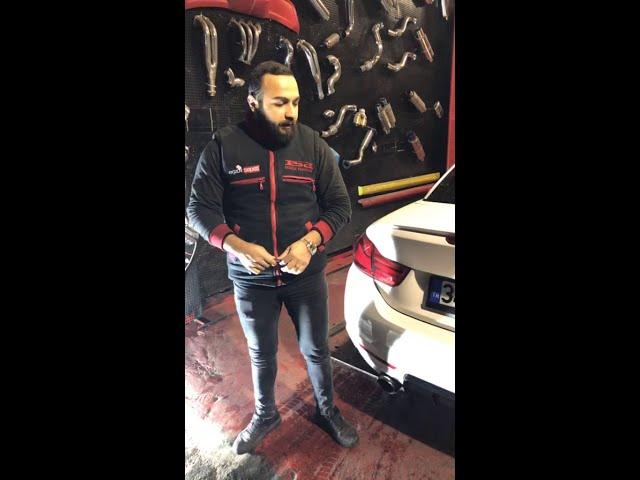 BMW F33 4.20 DİZEL CABRİO KUMANDALI VAREX EGZOZ SESİ
