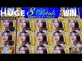 BIG SLOT WIN * 300X my bet * 8 Petals slot machine & more !