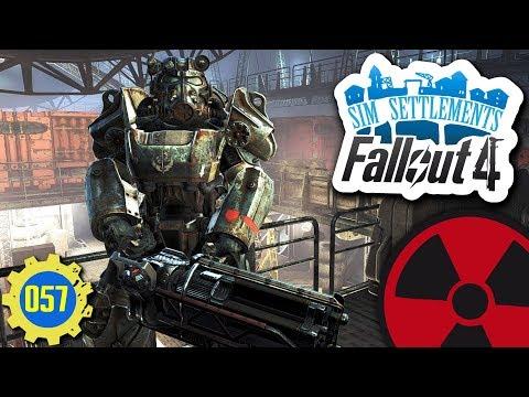 Fallout 4  Sim Settlements 057: Rundgang durch das Luftschiff ☢ Lets Play  Deutsch