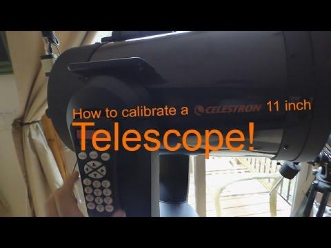 How to Calibrate a Celestron Computerized Telescope