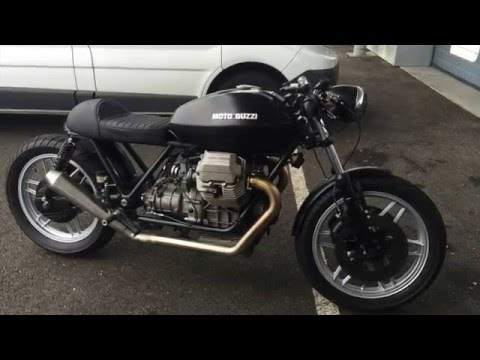 caf racer moto guzzi 1000 california 2 youtube. Black Bedroom Furniture Sets. Home Design Ideas