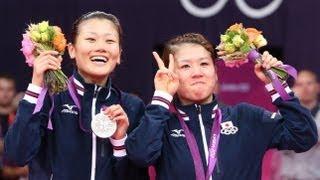 今日の産経新聞 ロンドン五輪総集編 バトミントン・女子ダブルス決勝