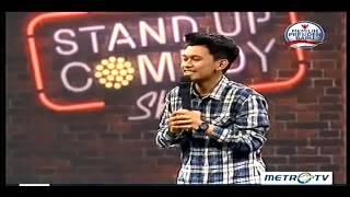 Indra Jegel Stand Up Comedy Indonesia  Anak Medan  TERBARU & TERLUCU MetroTV 4 Juni 2014