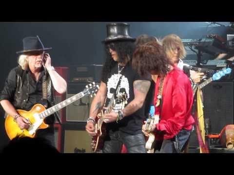 Aerosmith with Slash - Joe Perry's Birthday and Mama Kin (Live)