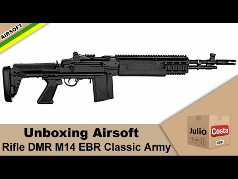 Airsoft Unboxing e Review - M14 EBR Classic Army - YouTube M14 Ebr Airsoft