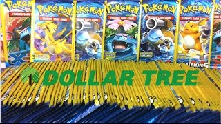 Opening Almost 100 POKEMON DOLLAR TREE BOOSTER PACKS!! (100,000 Subscriber Special Celebration!)