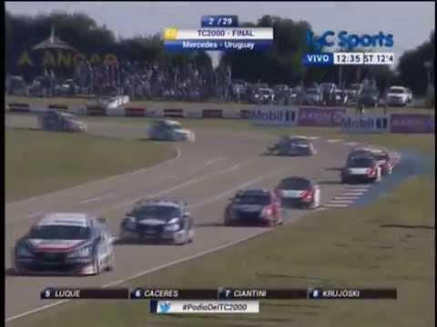 Carrera Final 2015 del TC2000 en Mercedes, Republica Oriental del Uruguay