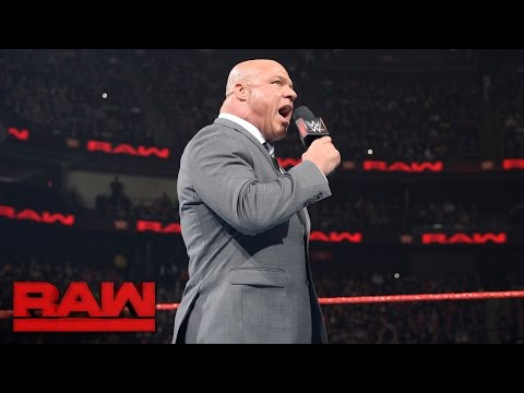 Thumbnail: Kurt Angle reveals how Universal Champion's challenger will be determined: Raw, May 15, 2017