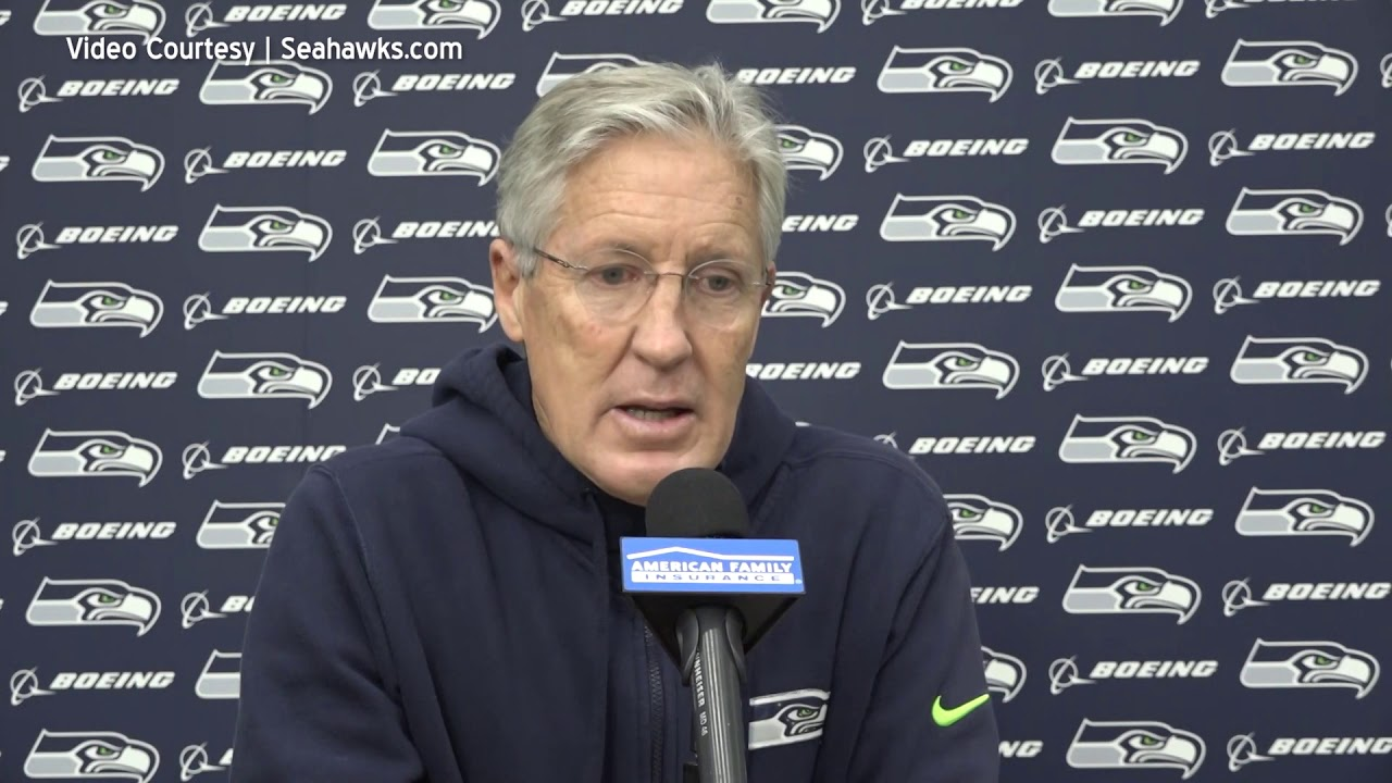 Pete Carroll on Facing Wolford 2021-01-06
