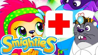 Smighties-Doctor Pretend Play Dental Care Episode For Kids | Funny Cartoon Video | Cartoons for Kids