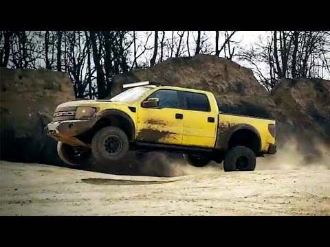 Not Dead Yet: Top Gear Pits G500 4×4² Against Ford F-150 Raptor