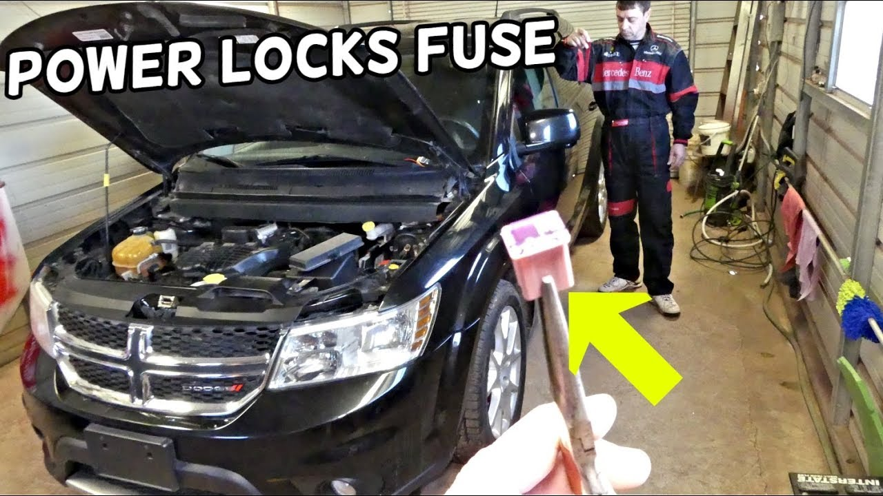 Dodge Journey Power Locks Fuse Location Replacement Fiat Freemont Central Locking Fuse Youtube