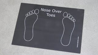 Dycem® Nose Over Toes Mat Review