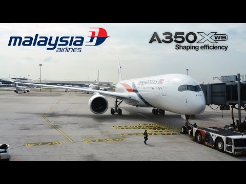 Malaysia Airlines Airbus A350-900XWB First Commercial Flight | MH1140 | Kuala Lumpur to Penang