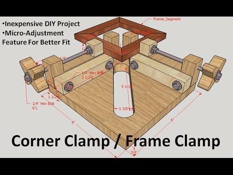 Corner Clamp / Frame Clamp Jig - YouTube