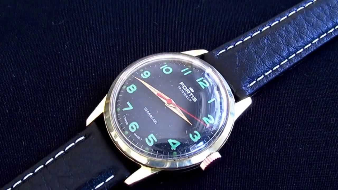 b60c0092e9d Fortis 17 jewels vintage wristwatch. vintage watches