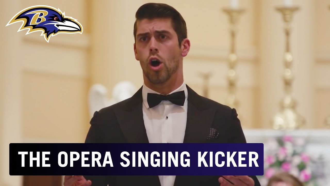 5aefeb3c7 Justin Tucker sings opera in new CBS show 'Most Valuable Performer'