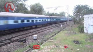 SPL VIDEO: 12875 Neelachal Express Thrashes Sardiha at a Fantastic Eve