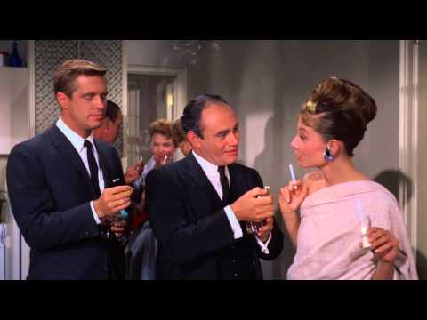 Breakfast at Tiffany's - Pre Party Scene (4) -  Audrey Hepburn