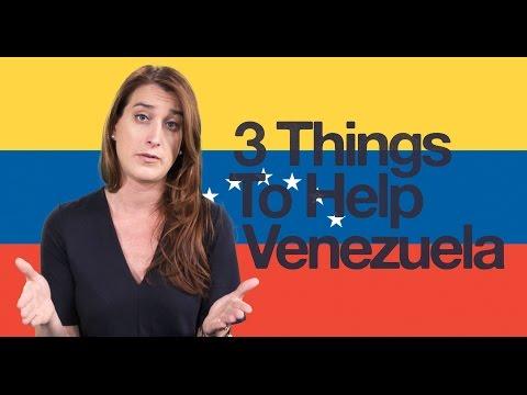 3 Ways to Help Venezuela